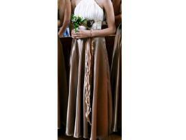 Šventinė elegantiška (pamergių) suknelė