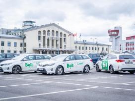 Pavežėjo darbas Bolt platformoje (taksi)