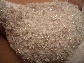 Vienetinė vestuvinė suknelė - nuotraukos Nr. 3