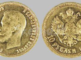 Perkame auksines,sidabrines monetas.