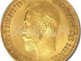 Perkame auksines monetas.15,10,5 rub.