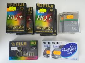 Naujos Vhs-c ir 8mm kasetės