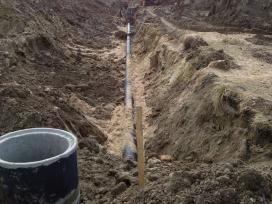 Kanalizacijos Vandentiekio įrengimas, Siurblinės