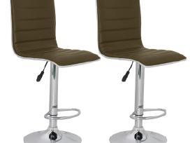 Vidaxl Baro kėdės, 2 vnt.,41x47,5x95-116 cm 60492