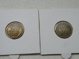Parduodu italų, nyderlandų ir prancūzų monetas