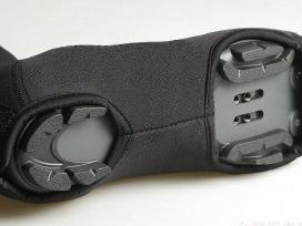Dviratininko batų apsauga antbačiai bachilai