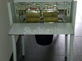 Medinių lentų dažymo mašina - nuoma ir pardavimas
