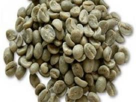 Žalioji kava malta ir pupelėmis