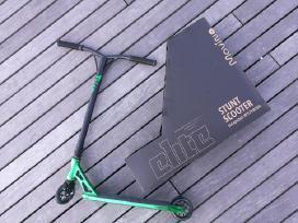 Pigiai Profesionalus Elite Green stunt scooter