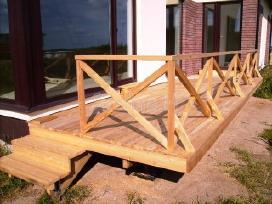 Betoniniai laiptai, medine laiptu apdaila - nuotraukos Nr. 6