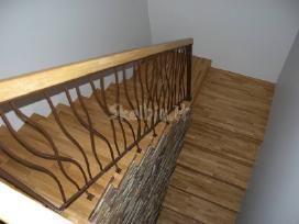 Betoniniai laiptai, medine laiptu apdaila - nuotraukos Nr. 8