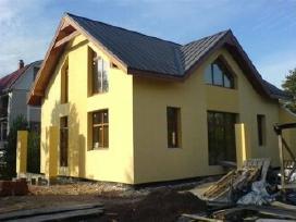 Kokybiškas fasadų šiltinimas,stogo pakalimas