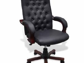 Vidaxl Chesterfield biuro kėdė, dirbtinė oda 20111