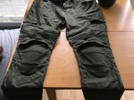 Parduodu Army Green Moto kelnės su apsaugomis