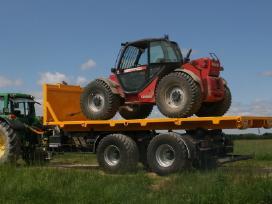 14t traktorinė kablio sistemos priekaba - nuotraukos Nr. 4