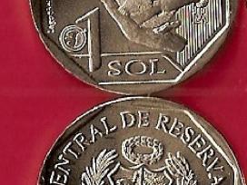 """Peru 2019m. 1sol """"Beždžionė"""" Unc"""