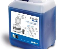 """Užbaigia """"Ensan Blue"""" 5 litrų sanitarinį skystį"""
