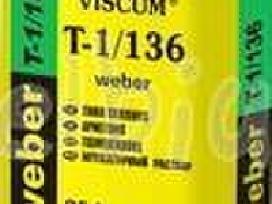 Plonasluoksnis tinkas Weber T-1 25kg