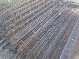 Armaturos karkasai poliai saramos betonas
