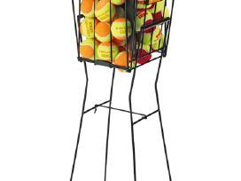 Krepšeliai lauko teniso kamuoliukų rinkimui