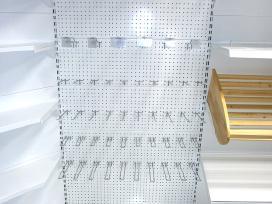 Naujos perforuotos parduotuvių lentynos - nuotraukos Nr. 5