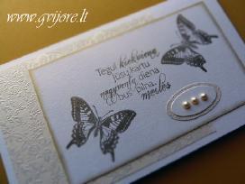 Vestuviniai kvietimai ir kt. vestuvinė atributika - nuotraukos Nr. 7