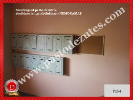 Sublokuotos pašto dėžutės daugiabuč