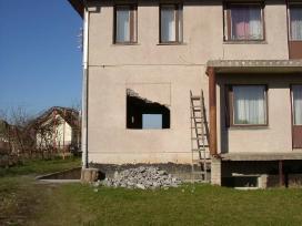 Betono mūro ardymas bei pjovimas griovimo darbai - nuotraukos Nr. 4