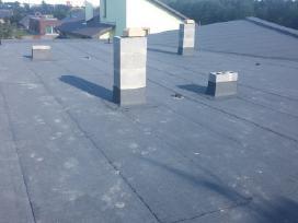 Bituminiai stogai, prilydoma danga, stogų dengimas - nuotraukos Nr. 5