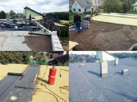 UAB Šiltas stogas, stogų remontas, prilydoma danga