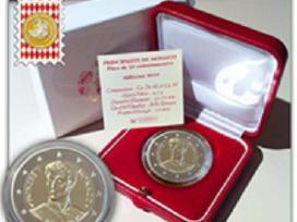 Monakas 2019m. 2 eurai Honore V