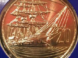 Monetos New Zealand 1990m. 5 vnt. cu-ni