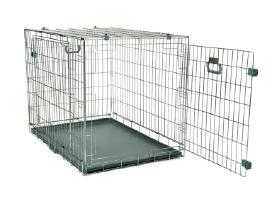 Naujas metalinis narvas šuniui, guoliai šunims - nuotraukos Nr. 2