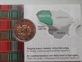 2 eurų moneta, skirta Žemaitijai (bu) 2019m.