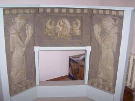 Dekoratyvinė židinio apdaila - nuotraukos Nr. 2