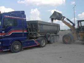 Transporto paslaugos, birių krovinių pervežimas