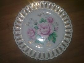 Lėkštė porcelianas