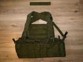Taktinė (amunicinė) liemenė + dėtuvių krepšeliai