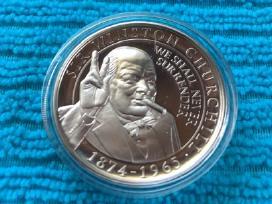 Moneta Gibraltar 2015 m. 1 krona, virenium
