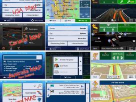 Navigacijų žemėlapių atnaujinimas, remontas