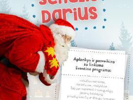 Kalėdų senelio padėjėjas Darius Panevėžyje!