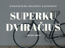 Konkurencingomis kainomis superku dviračius