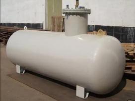 Pigiai suskystintų dujų talpyklos 4,2.12,5 .25 kub