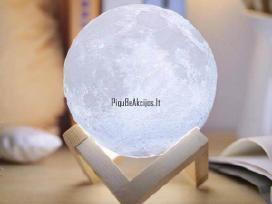 3D Mėnulio formos pastatoma Led lempa