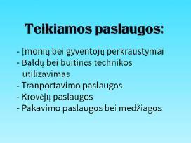 Perkraustymo Paslaugos - Krovininis Taksi Kaune