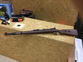 Airsoft Mauser Kar98 spyruoklinis šautuvas