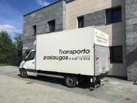 Krovinių pervežimas Transporto paslaugos
