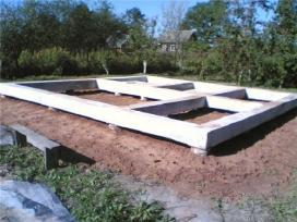 Betonavimo darbai, polių gręžimas