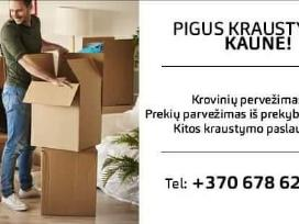 Perkraustymas Kaune, krovinių, baldų pervežimas