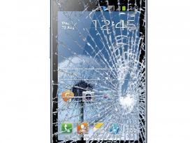 Mobiliųjų telefonų ekranų ir stikliukų keitimas